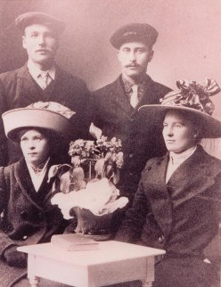 constance and anders fyhn(wife) and brother, lars martinson